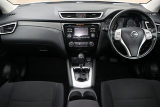 2015 Nissan Qashqai J11 ST Silver Continuous Variable Wagon