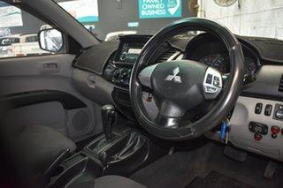 2010 Mitsubishi Triton MN MY11 GL-R (4x4) Grey 4 Speed Automatic Double Cab Utility