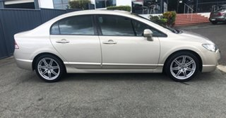 2008 Honda Civic 8th Gen MY08 Sport Gold 5 Speed Automatic Sedan.