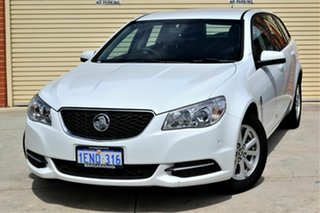 2014 Holden Commodore VF MY14 Evoke Sportwagon White 6 Speed Sports Automatic Wagon.