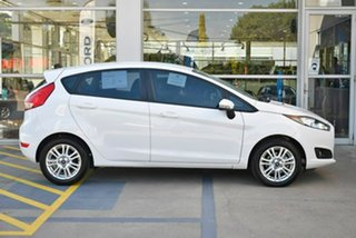 2014 Ford Fiesta WZ Trend PwrShift White 6 Speed Sports Automatic Dual Clutch Hatchback