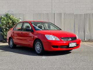 2007 Mitsubishi Lancer CH MY07 ES Red 5 Speed Manual Sedan.