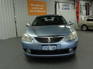 2011 Renault Fluence L38 Dynamique Blue 6 Speed Constant Variable Sedan.