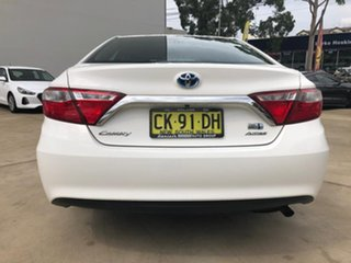 2016 Toyota Camry Altise White Constant Variable Sedan