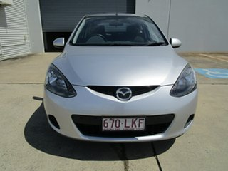 2008 Mazda 2 DE10Y1 Neo Silver 5 Speed Manual Hatchback.