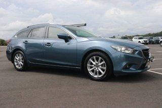 2013 Mazda 6 GJ1021 Touring SKYACTIV-Drive Blue Reflex 6 Speed Sports Automatic Wagon.
