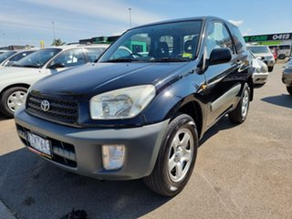 2002 Toyota RAV4 ACA20R Edge Black 5 Speed Manual Hardtop