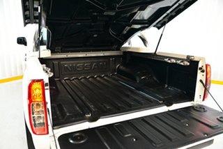 2013 Nissan Navara D40 S6 MY12 ST 4x2 White 5 Speed Sports Automatic Utility