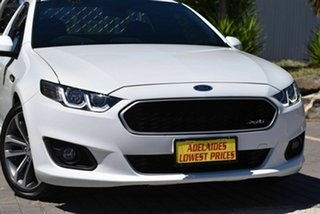 2015 Ford Falcon FG X XR6 Ute Super Cab White 6 Speed Automatic Cab Chassis