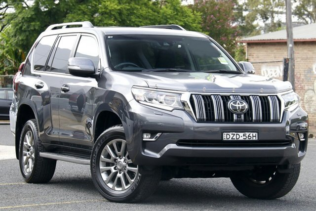 Used Toyota Landcruiser Prado GDJ150R VX Homebush, 2018 Toyota Landcruiser Prado GDJ150R VX Grey 6 Speed Sports Automatic Wagon