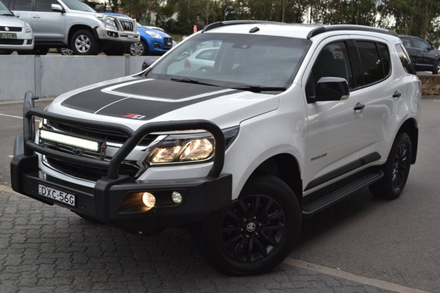 Used Holden Trailblazer RG MY19 Z71 Maitland, 2018 Holden Trailblazer RG MY19 Z71 White 6 Speed Sports Automatic Wagon