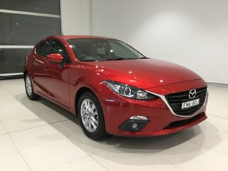 2015 Mazda 3 BM5478 Touring SKYACTIV-Drive Soul Red/creme 6 Speed Sports Automatic Hatchback.