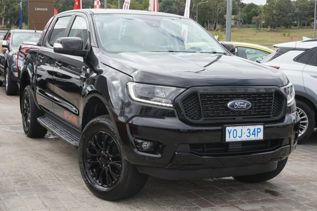 Used Ford Ranger PX MkIII 2020.25MY FX4 Phillip, 2020 Ford Ranger PX MkIII 2020.25MY FX4 Black 6 Speed Sports Automatic Double Cab Pick Up