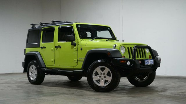 Used Jeep Wrangler JK MY2012 Unlimited Sport Welshpool, 2012 Jeep Wrangler JK MY2012 Unlimited Sport Gecko 5 Speed Automatic Softtop