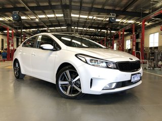 2018 Kia Cerato YD MY18 Sport White 6 Speed Auto Seq Sportshift Sedan.