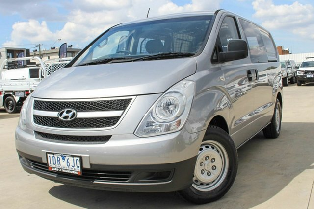 Used Hyundai iLOAD TQ2-V MY15 Coburg North, 2015 Hyundai iLOAD TQ2-V MY15 Silver 6 Speed Manual Van