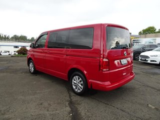 2019 Volkswagen Multivan T6 MY19 TDI340 SWB DSG Comfortline Cherry Red 7 Speed Automatic Wagon