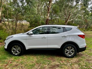 2015 Hyundai Santa Fe DM2 MY15 Active Creamy White 6 Speed Sports Automatic Wagon.