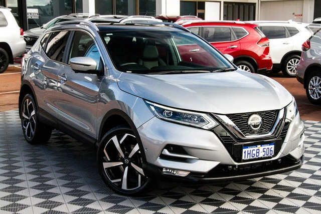 Used Nissan Qashqai J11 Series 2 Ti X-tronic Attadale, 2019 Nissan Qashqai J11 Series 2 Ti X-tronic Platinum 1 Speed Constant Variable Wagon