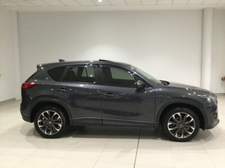 2016 Mazda CX-5 KE1032 Grand Touring SKYACTIV-Drive AWD Grey 6 Speed Sports Automatic Wagon.