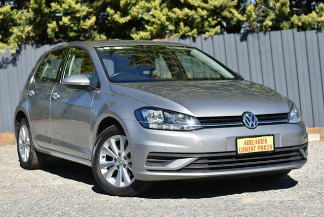 Used Volkswagen Golf 7.5 MY17 110TSI DSG Trendline Cheltenham, 2017 Volkswagen Golf 7.5 MY17 110TSI DSG Trendline Silver 7 Speed Sports Automatic Dual Clutch