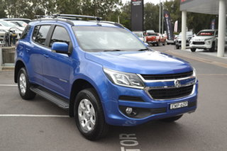 2017 Holden Trailblazer RG MY18 LT Blue 6 Speed Sports Automatic Wagon.
