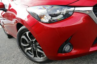 2016 Mazda 2 DJ2HAA Genki SKYACTIV-Drive Red 6 Speed Sports Automatic Hatchback.