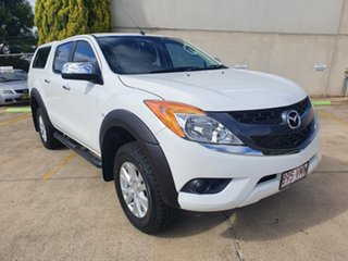 2014 Mazda BT-50 UP0YF1 GT Cool White 6 Speed Manual Utility.