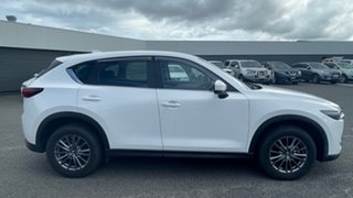 2017 Mazda CX-5 KE1072 Maxx SKYACTIV-Drive FWD Sport White 6 Speed Sports Automatic Wagon.