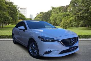 2014 Mazda 6 GJ1031 Touring SKYACTIV-Drive White 6 Speed Sports Automatic Sedan.