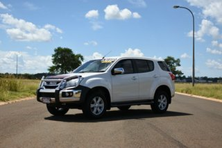 2015 Isuzu MU-X UC MY15 LS-U (4x2) White 5 Speed Automatic Wagon.