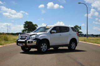 2015 Isuzu MU-X UC MY15 LS-U (4x2) White 5 Speed Automatic Wagon.