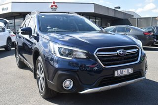 2018 Subaru Outback B6A MY18 2.5i CVT AWD Premium Blue 7 Speed Constant Variable Wagon.
