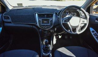 2017 Hyundai Accent RB5 MY17 Sport Sunflower 6 Speed Manual Sedan.