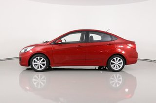 2017 Hyundai Accent RB5 Sport Red 6 Speed Automatic Sedan