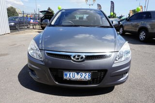 2009 Hyundai i30 FD MY09 SX Steel Grey 4 Speed Automatic Hatchback