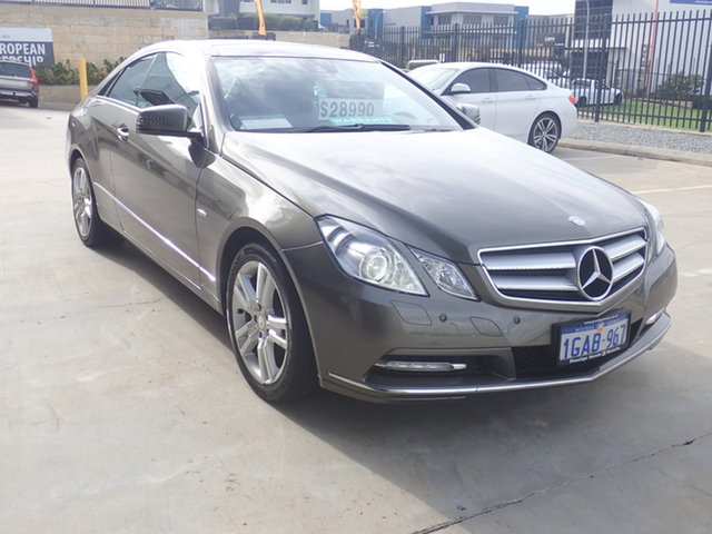 Used Mercedes-Benz E250 207 MY11 CGI Avantgarde Wangara, 2011 Mercedes-Benz E250 207 MY11 CGI Avantgarde Olivine 5 Speed Automatic Coupe