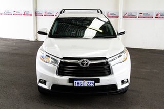 2016 Toyota Kluger GSU55R GX AWD Crystal Pearl 6 Speed Sports Automatic Wagon