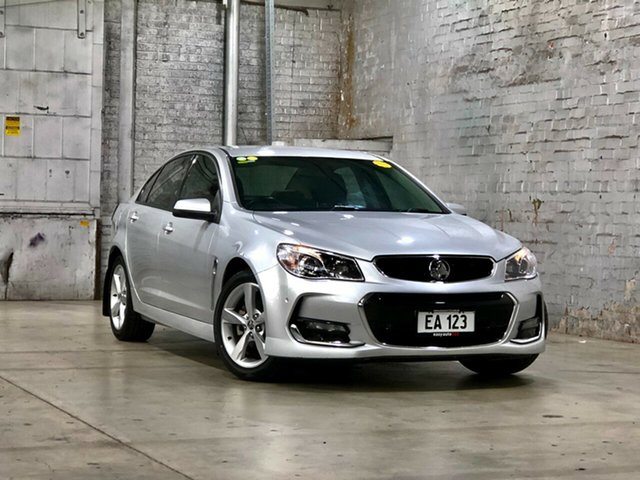 Used Holden Commodore VF II MY16 SV6 Mile End South, 2016 Holden Commodore VF II MY16 SV6 Silver 6 Speed Sports Automatic Sedan
