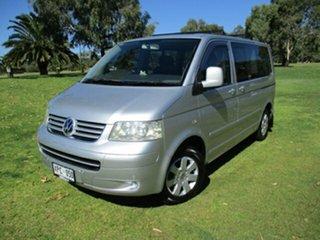 2007 Volkswagen Multivan T5 Comfortline Silver 6 Speed Sports Automatic Wagon.