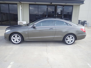 2011 Mercedes-Benz E250 207 MY11 CGI Avantgarde Olivine 5 Speed Automatic Coupe