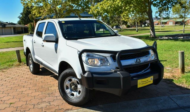 Used Holden Colorado RG MY15 LS Ingle Farm, 2015 Holden Colorado RG MY15 LS White 6 Speed Sports Automatic Cab Chassis