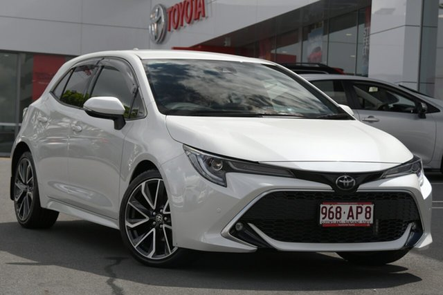 Pre-Owned Toyota Corolla Mzea12R ZR Woolloongabba, 2019 Toyota Corolla Mzea12R ZR Pearl White 10 Speed Constant Variable Hatchback