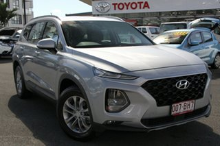 2018 Hyundai Santa Fe TM MY19 Active Silver 8 Speed Sports Automatic Wagon.