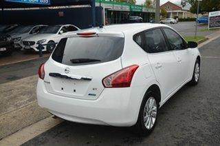 2013 Nissan Pulsar C12 ST White 6 Speed Manual Hatchback.