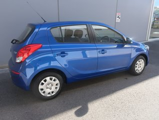 2014 Hyundai i20 PB MY15 Active Blue 4 Speed Automatic Hatchback