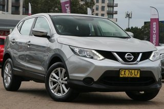 2015 Nissan Qashqai J11 ST Silver Continuous Variable Wagon.