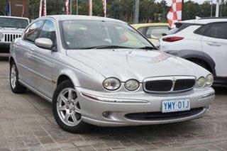 2003 Jaguar X-Type X400 SE Silver 5 Speed Automatic Sedan.