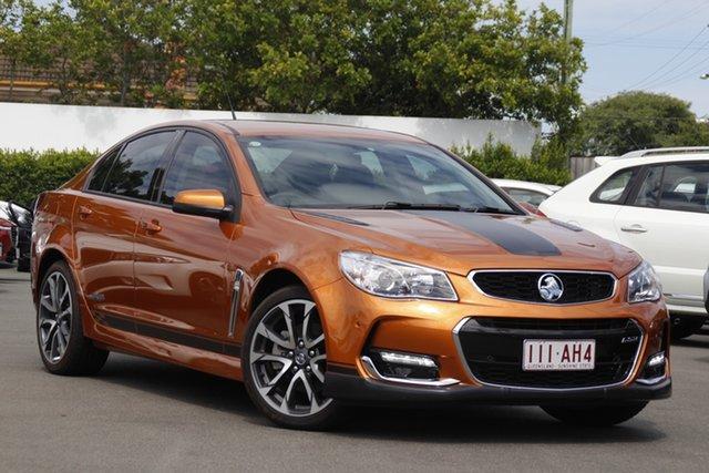 Used Holden Commodore VF II MY17 SS Mount Gravatt, 2017 Holden Commodore VF II MY17 SS Orange 6 Speed Manual Sedan