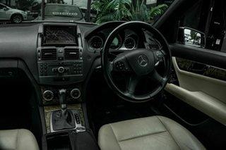 2009 Mercedes-Benz C-Class W204 C200 Kompressor Avantgarde Blue 5 Speed Sports Automatic Sedan